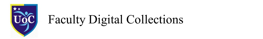 UoC Faculty Digital Collections