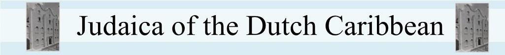 Judaica of the Dutch Caribbean
